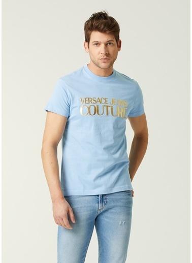 Versace Polo Yaka T-shirt Mavi